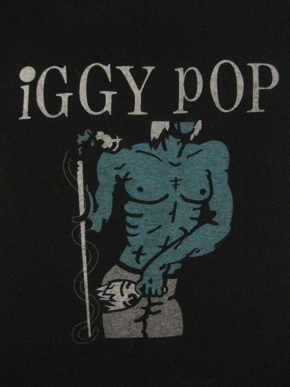 Vintage IGGY POP 1981 tour SHIRT