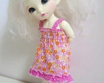 PKF/PukiFee/Lati Yellow Pink & Orange Floral Sun Dress