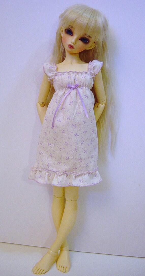 Lavender Leaf Sun Dress for MNF/Minifee/Unoa/Slim MSD