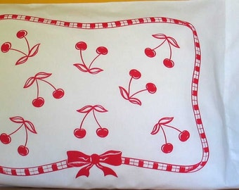 Cherries Pillowcases