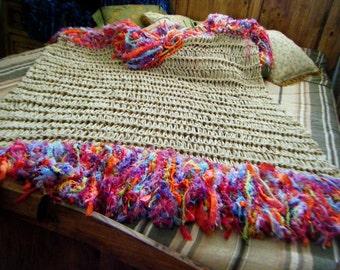 Kids Gift Girls Blanket Fringe Throw Girl Blanket for Girls Bedroom Pre Teen Gift Decorate Her Girls Room Decor