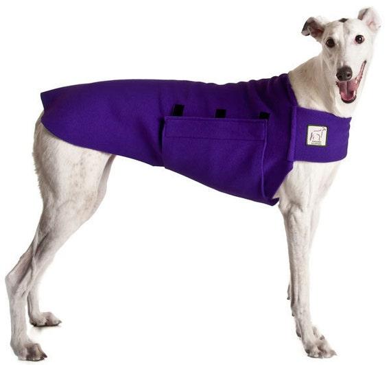GREYHOUND Tummy Warmer, Dog Clothing, Dog Sweater, Fleece Dog Coat