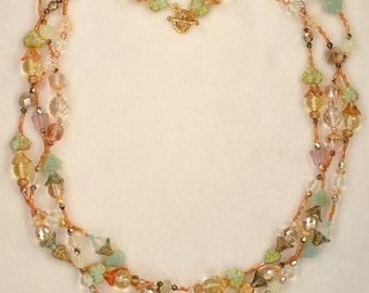 The Golden Spiderweb Necklace