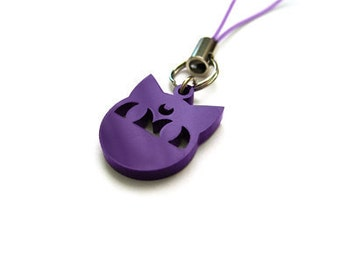Purple Luna P - Sailor Moon Phone Charm
