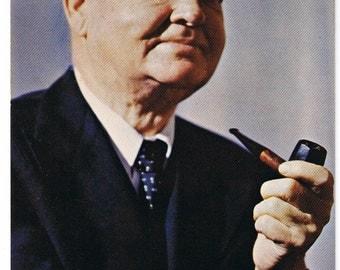 Herbert Hoover Vintage Postcard - President Postcard