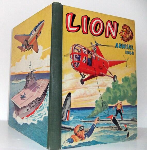 Lion Annual 1960 - vintage book