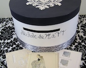 Custom Wedding Reception Card Box- Nichole Design