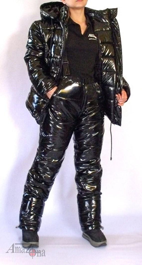 Monte Vista Shiny Vinyl Down Suit