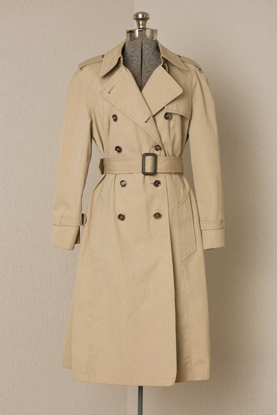 1970s Rain Coat / Vintage 60s Rain Coat /  Vintage London Fog