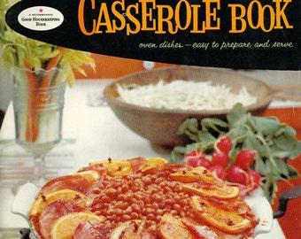 Vintage 1950s Good Housekeeping Cookbook CASSEROLE Recipe Book