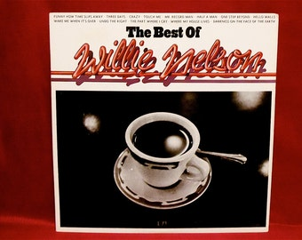 WILLIE NELSON - The Best Of Willie Nelson - 1973 Vintage Vinyl Record Album