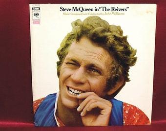 """STEVE MCQUEEN - """"The Reivers Original Motion Picture Soundtrack - 1960s Vintage Vinyl Record Album...PROMOTIONal Copy"""