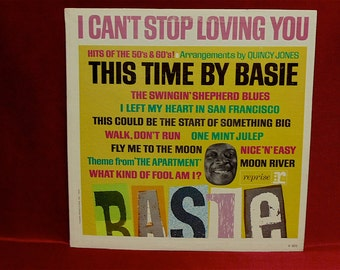 COUNT BASIE - I Can't Stop Loving You - 1963 Vintage Vinyl Lp Record Album