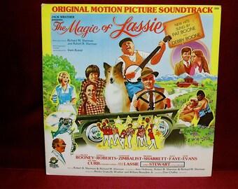 The MAGIC of LASSIE - Original Motion Picture Soundtrack - 1978 Vintage Vinyl Record Album