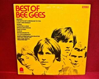 The BEE GEES - Best of the Bee Gees - 1969 Vintage Vinyl Record Album