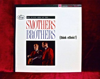 The SMOTHERS BROTHERS - Think Ethnic - 1963 Vintage Vinyl Record Album