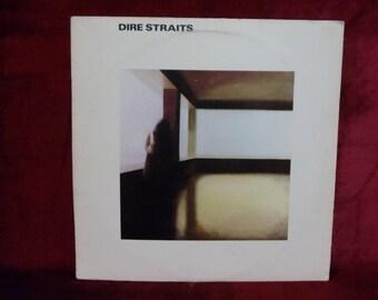 DIRE STRAITS - Dire Straits- 1978 Vintage Vinyl Record Album