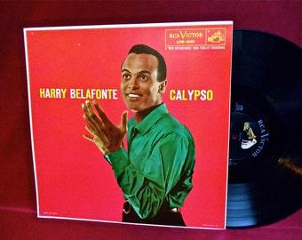 HARRY BELAFONTE - Calypso - 1956 Vintage Vinyl Record Album