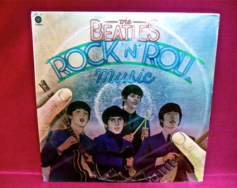 "THE BEATLES - Rock ""n"" Roll Music - 1976 Vintage Vinyl 2 LP GATEfold Record Album"