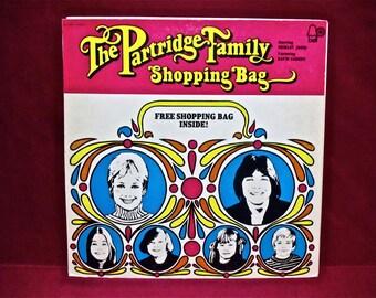 The PARTRIDGE FAMILY - Shopping Bag - 1972 Vintage Vinyl GATEFOLd Record Album...(RARE)Includes the Shopping Bag