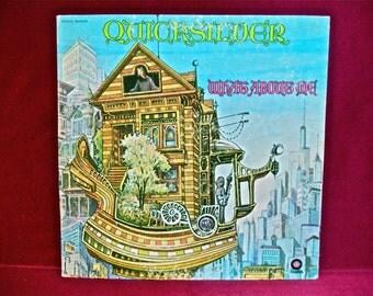 QUICKSILVER  MESSENGER SERVICE - What About Me - 1970 Vintage Vinyl GATEfold Record Album