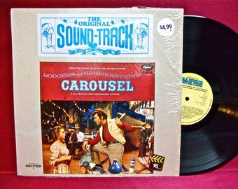 RODGERS and HAMMERSTEIN - Carousel - 1960s Vintage Vinyl Record Album...SPAINISH Pressing