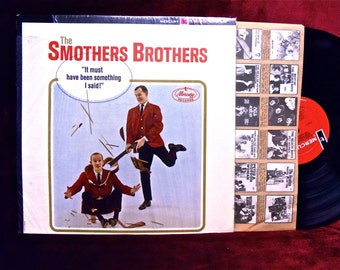 "SMOTHERS BROTHERS - ""It Must Have Been Something I Said"" - 1963 Vintage Vinyl Record Album"