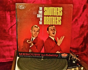 SMOTHERS BROTHERS - The Two Sides of the Smothers Brothers - 1962 Vintage Vinyl Record Album