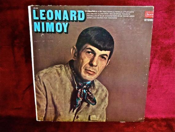 Leonard Nimoy Leonard Nimoy 1960s Vintage Vinyl Record