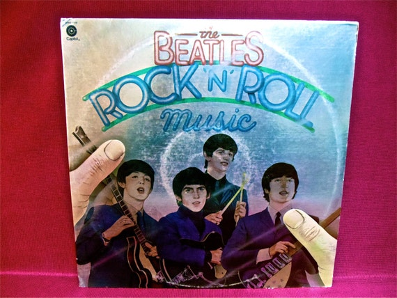 "CHRISTMAS SALE THE Beatles - Rock ""n"" Roll Music - 1976 Vintage Vinyl 2 Lp GATEfold Record Album"