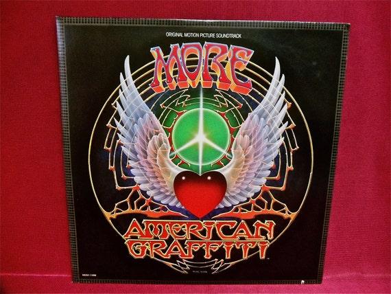 MORE AMERICAN GRAFFITI - Soundtrack - 1979 Vintage Vinyl 2 lp GATEfold Record Album