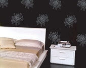 Wall decals vinyl stickers - Cactus Dahlia