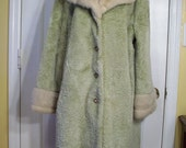 VIntage Faux Fur Coat .