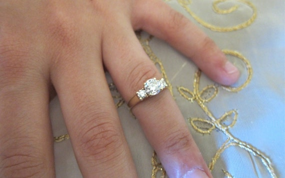 Past & Present and Future Engagement ring.
