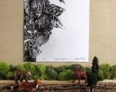 Animal Kingdom I - Silkscreen Print - Limited Edition - Animals of the world - Animal Screenprint - Hand printed