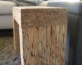 small interior bench / table