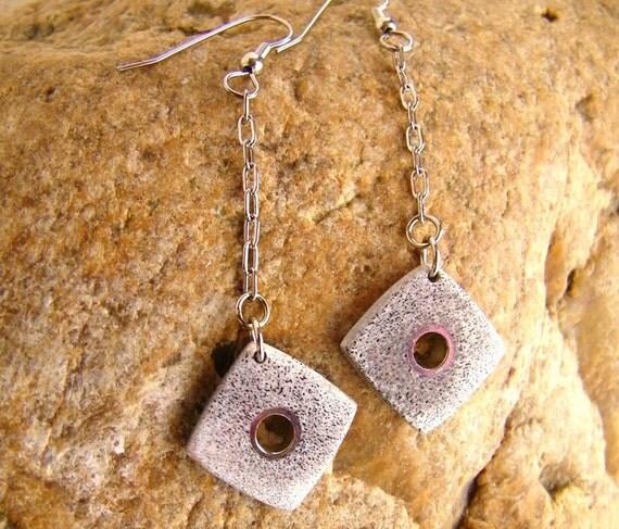 Antler Earrings - Handmade Inlaid Western Elk Antler Earrings - Antler Jewelry - Gifts Under 40 - Ready to Ship
