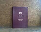 Vintage Bible - 1953 Queen Elizabeth Coronation School Bible / English Shop