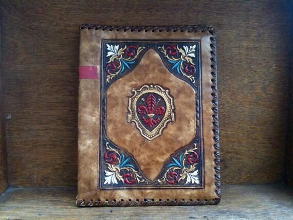 Vintage English Folder Book or Paper Cover / English Shop