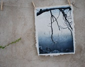 Reserved for B:   art print etching solarplate on handmade paper