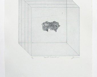Original UNFRAMED Etching Print - 'Selected, Contained IV'