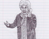 Estelle Getty Print...