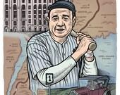 Babe Ruth Print