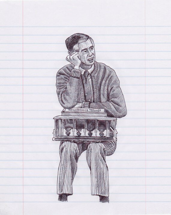 Mr. Rogers Print