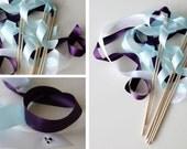 Wedding Ribbon Wands with Hidden Disney Mickeys in Rhinestones