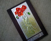 Upcycled Soda Pop Can Poppies Wall Art - RainyRootsStudio