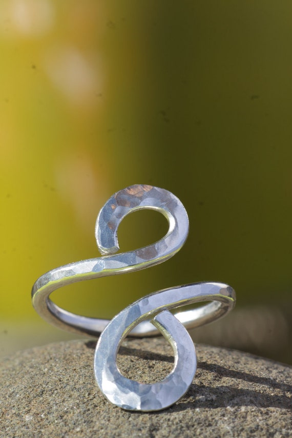 Hand Crafted Silver Infinity Ring