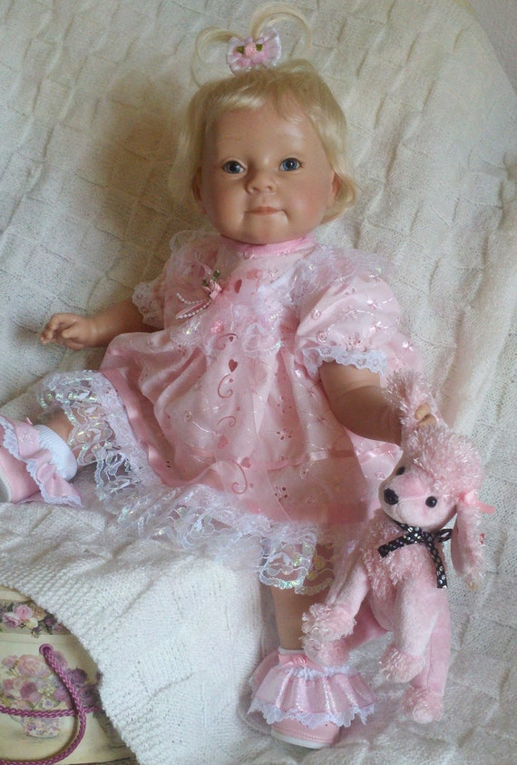 "Reserve for Barb - Clothing and assessories for 22""  Handmade Doll ""Pinky"""