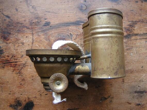 Vintage Copper Rainwater Gas Light Contraption