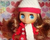 Winter Love Blythe Doll Necklace